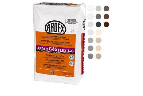 ARDEX G8S Flex-Fugenmörtel schnell FLEX 1-6 12,5 Kg Sack