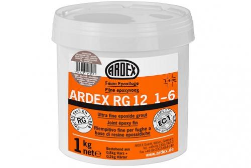 ARDEX RG 12 Feine Epoxifuge, silbergrau 1 Kg