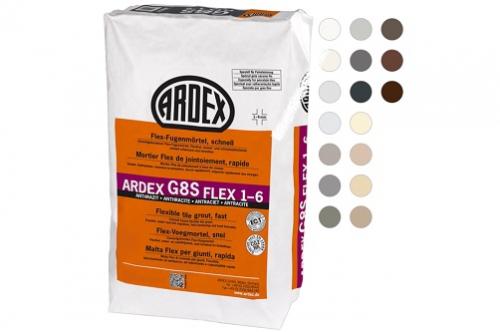 ARDEX G8S Flex-Fugenmörtel schnell FLEX 1-6 5 Kg Beutel