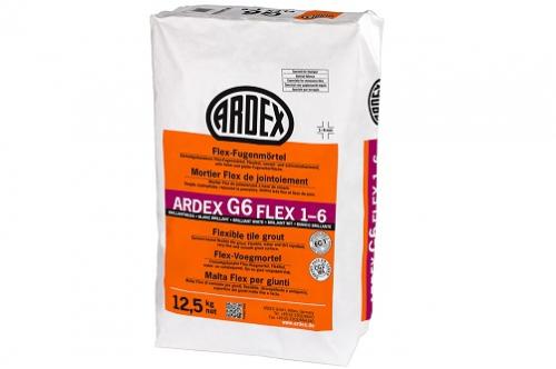ARDEX G6 Flex-Fugenmörtel FLEX 1-6 12,5 Kg Sack