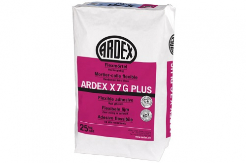 ARDEX X 7 G PLUS Flexmörtel 25 Kg Sack