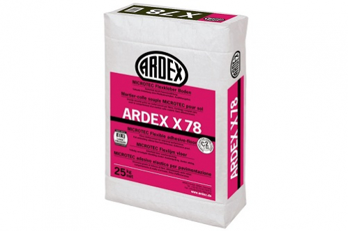 ARDEX X 78 MICROTEC Flexkleber Boden 25 Kg