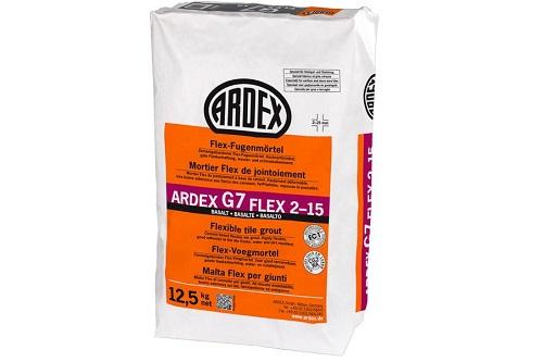 ARDEX G7 Flex-Fugenmörtel FLEX 2-15 12,5 Kg
