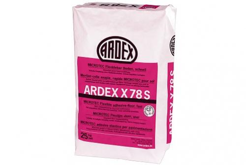 ARDEX X 78 MICROTEC Flexkleber Boden, schnell 25 Kg