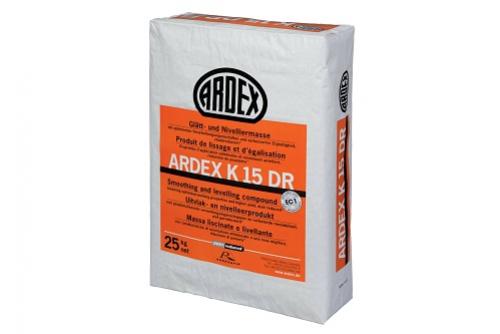 Ardex K15 DR Glätt- und Nivelliermasse 25 kg Sack