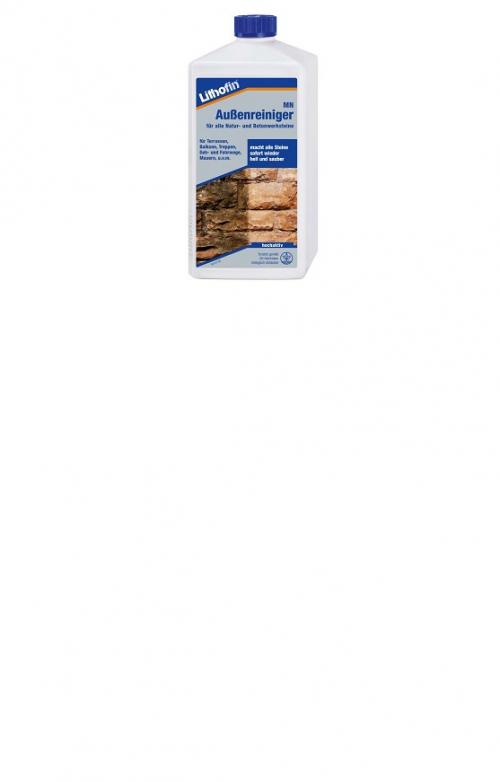 Lithofin  MN Außenreiniger ist für alle Natur- und Betonwerksteine ( 1 Liter )