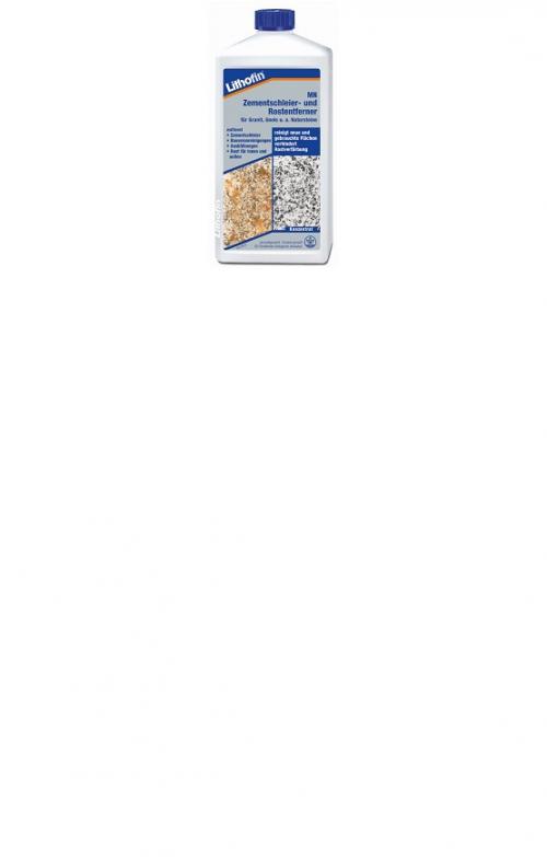 Lithofin  MN Zementschleier- und Rostentferner für Granit, Gneis u.a. Natursteine ( 1 Liter )