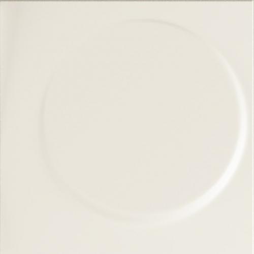 Dune ceramics Luna Panna Wandfliese creme matt 25x25 cm