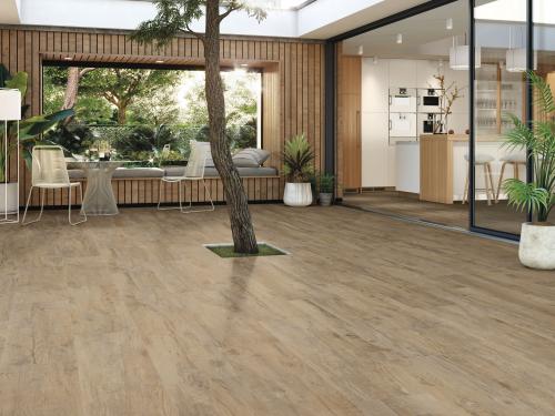 Casa Wood Holzoptik Bodenfliese Maple matt 30x120 cm