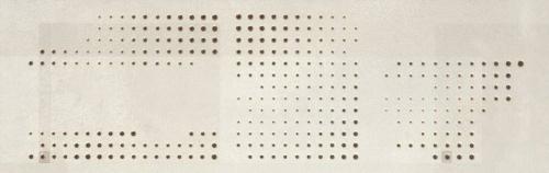 Grespania Vulcano 100 Dekor Milenio Blanco matt 31,5x100 cm