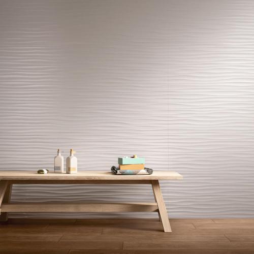 Marazzi Essenziale Wave 3D Dekor satinato matt 40x120 cm