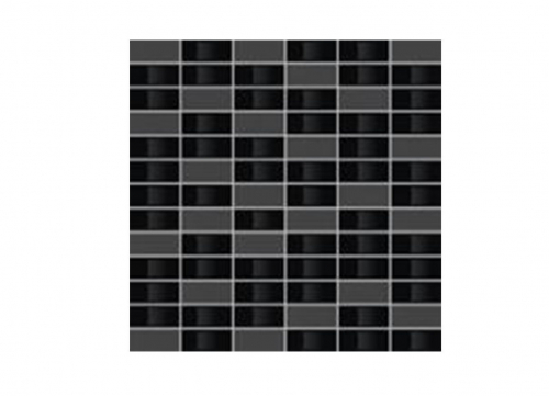 Villeroy & Boch BiancoNero Mosaik schwarz matt-glanz 30x30 cm