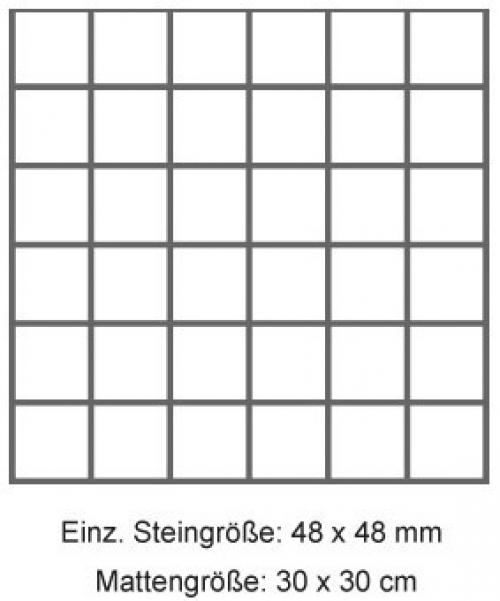 Pamesa Essen Mosaik Betonoptik tortora matt 30x30 cm