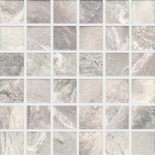Agrob Buchtal Evalia 5x5 Mosaik graubeige matt 30x30 cm