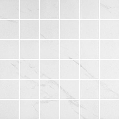 Steuler Marble Mosaik weiß-grau poliert 30x30 cm