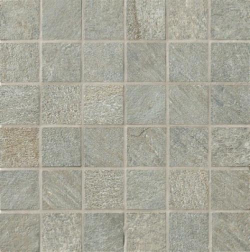 Novabell Avant 5x5 Mosaik silver matt 30x30 cm