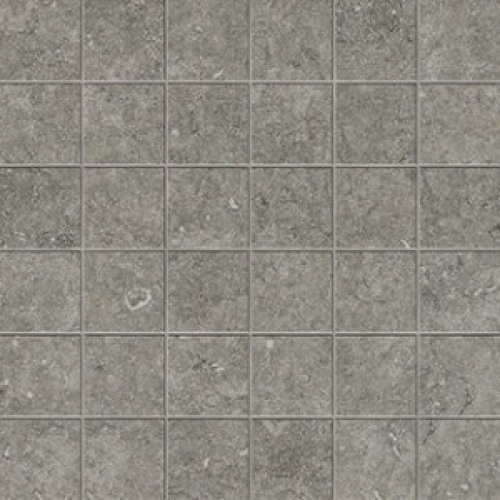 Novabell District  5x5 Mosaik silver anpoliert 30x30 cm