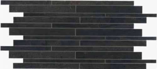 Novabell Crossover Muretto Mosaik nero matt 30x60 cm