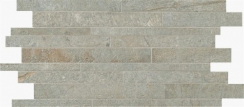 Novabell Avant Muretto Mosaik silver matt 30x60 cm