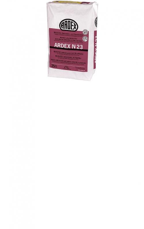 ARDEX N 23 MICROTEC Naturstein- und Fliesenkleber 25 kg Sack