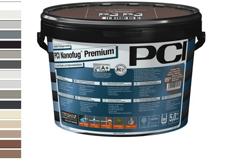 PCI Nanofug Premium Fugenmörtel Eimer 5 Kg