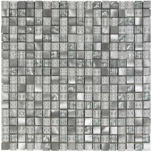 Dune Material-Mix-Mosaik Niagara gra schillernd 30x30 cm