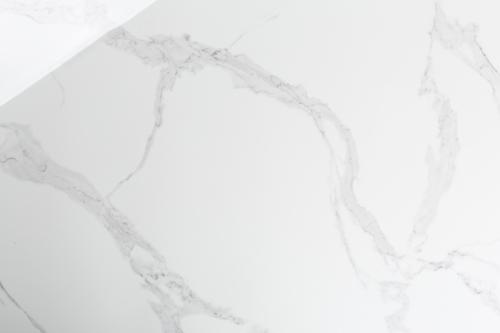Calacatto Torano Statuario Bodenfliese weiß marmoriert glänzend 30x60 cm