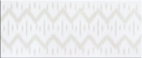 Steuler Pure White Dekor ,,Pica´´ weiß matt 33x80 cm