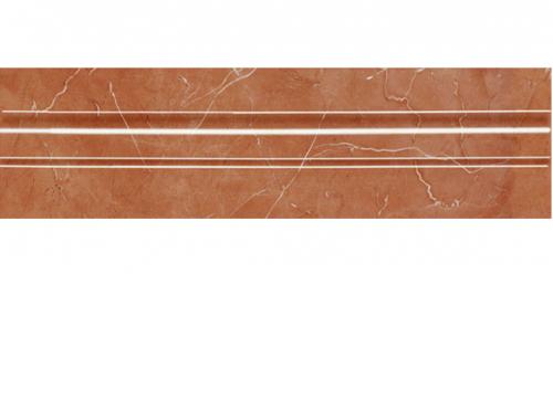 Villeroy & Boch New Tradition Bordüre  rosso glänzend 7x30 cm