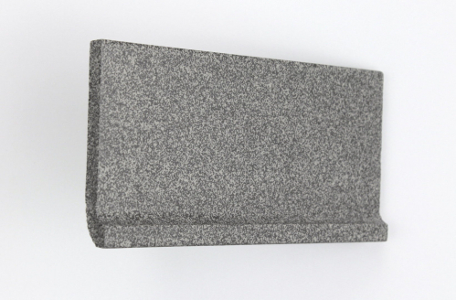 Vitra 10x20cm anthrazit gewerbliche Feinkorn Hohlkehlsockel