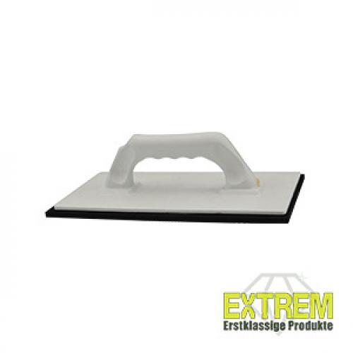 Extrem Werkzeuge Zellgummiträgerbrett schwarz mit weißem Griff 280x140 mm