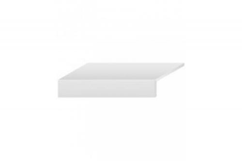 Schenkelplatte Villeroy & Boch Mont Blanc Outdoor Granitoptik silver 35x80x2 cm 2884 GS06 matt R11/B