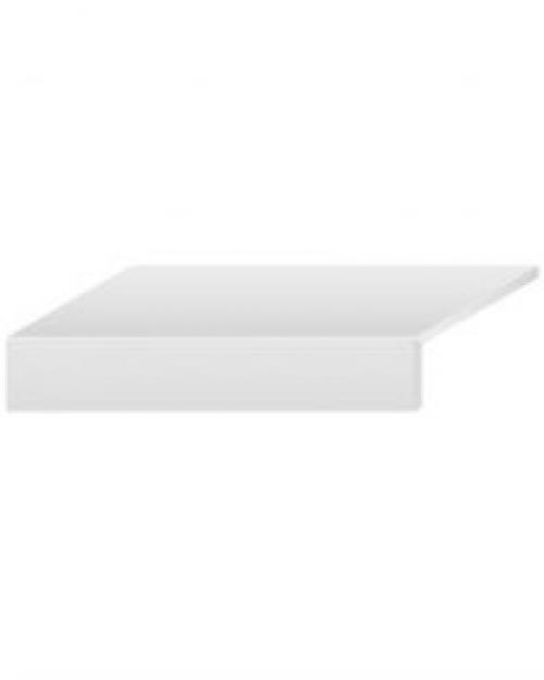Villeroy & Boch Memphis Outdoor20 Schenkelplatte Betonoptik warm grey matt 35x80x2 cm