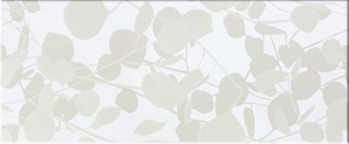 Steuler Pure White Dekor ,,Shadow´´ weiß glänzend 33x80 cm