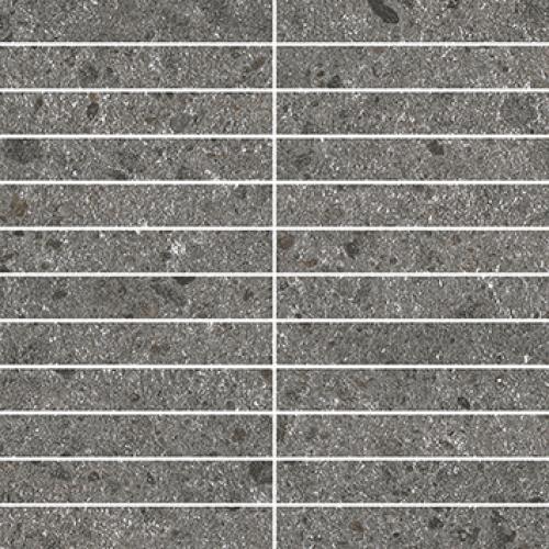 Villeroy & Boch Aberdeen 2,5x15 Mosaik slate grey matt 30x30 cm