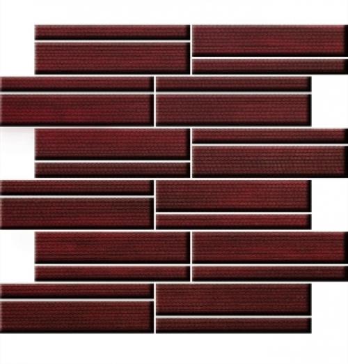 Steuler Teardrop Y68363001 Mosaik rubin geläppt 33,5x30 cm