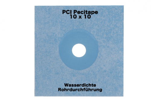 PCI Pecitape Wand Rohrmanschette 10x10 cm
