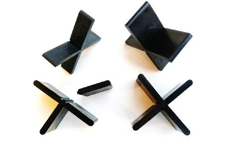 Fugenkreuze für Terrassenplatten, 3 x 10 mm - 100 Stück
