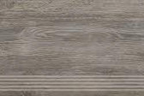Agrob Buchtal Driftwood Treppenfliese grau-braun-mix matt 30x120 cm
