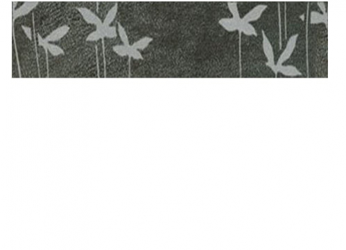 Villeroy & Boch Melrose Bordüre Ayurverda anthrazit matt 5x30 cm