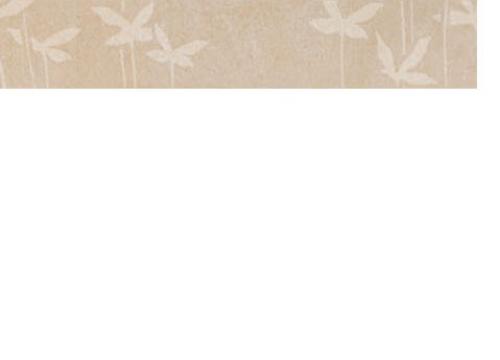 Villeroy & Boch Melrose Bordüre Ayurverda beige matt 5x30 cm