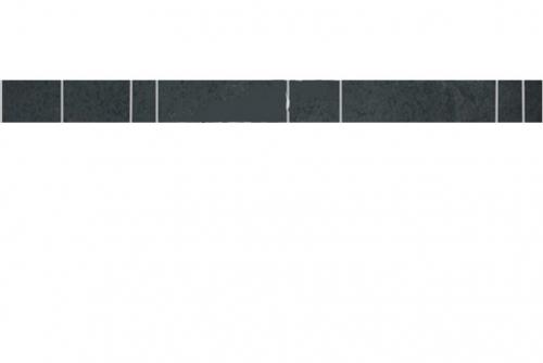 Agrob Buchtal como Bordüre graphitschwarz matt 4x60 cm