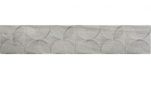 Villeroy & Boch Townhouse Bordüre grau matt 10x60 cm