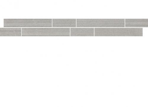Villeroy & Boch Timeline Bordüre grau matt 5x60 cm