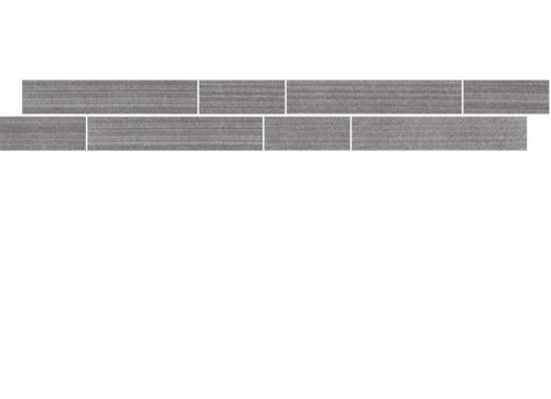 Villeroy & Boch Timeline Bordüre anthrazit matt 5x60 cm