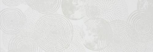 Steuler Pure White Dekor ,,Galaxie´´ weiß glänzend strukturiert 25x70 cm