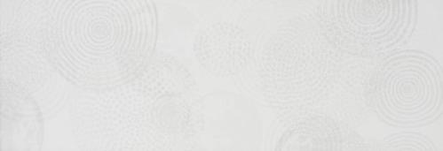 Steuler Pure White Dekor ,,Galaxie´´ weiß matt strukturiert 25x70 cm