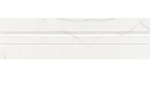 Villeroy & Boch New Tradition Bordüre bianco glänzend 7x30 cm