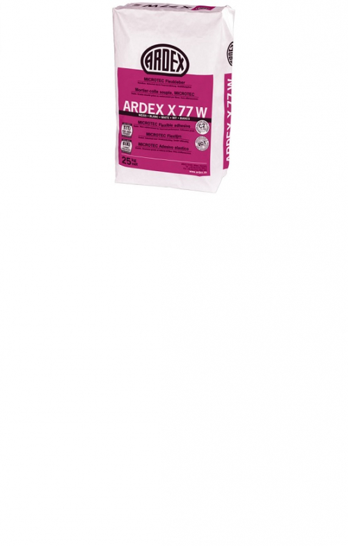 ARDEX X 77 W MICROTEC Flexkleber weiß 25 Kg
