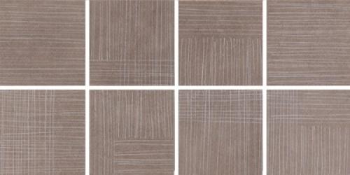 Steuler Thinsation Dekorationsset 8-teilig jeweils 15x15 cm ,,Linea´´ taupe 30x60 cm